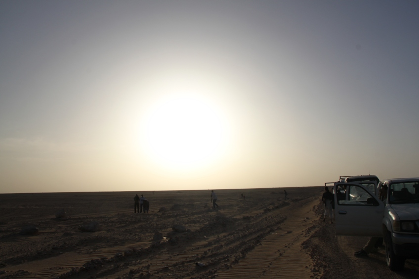 The road from Tindouf to Dakhla.