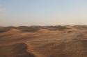 Sand dunes near the border between Algeria and Mauritania.