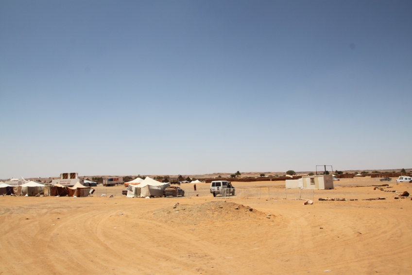 Central view of Dakhla.